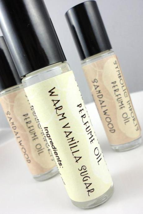 Warm Vanilla Sugar Perfume Oil - Roll On Perfume