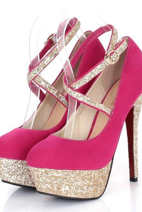 Elegant Pink Party Pumps