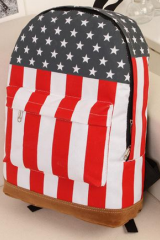 2015 new Canvas Shoulder Bag British / American Flag Punk Bag Backpack Schoolbag Day Packs
