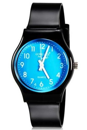 Willis for Mini Student Kid Fashionable Analog Quartz Wrist Watch (Blue)
