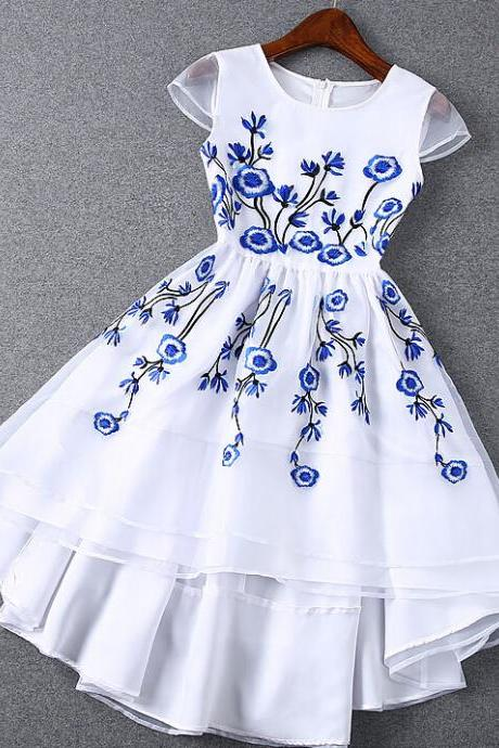 The New Embroidered Organza Dress