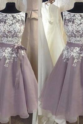 gray prom dress, lace prom dress, unique bridesmaid dress, off shoulder bridesmaid dress, occasion dress, PD15053
