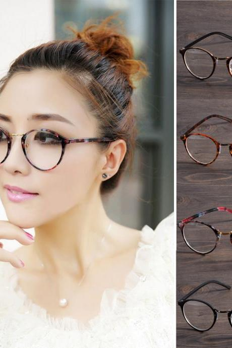 Decoration Round Lens Plano Optical Glasses