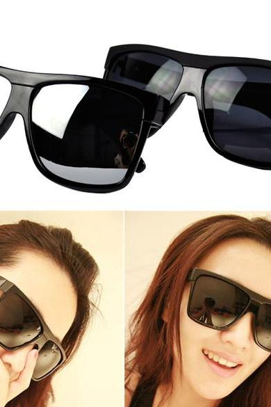 Unisex Large Frame Square sunglasses