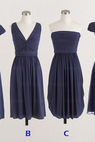 navy Bridesmaid Dresses, affordable Bridesmaid Dresses, long Bridesmaid Dresses, cheap Bridesmaid Dresses, CM475