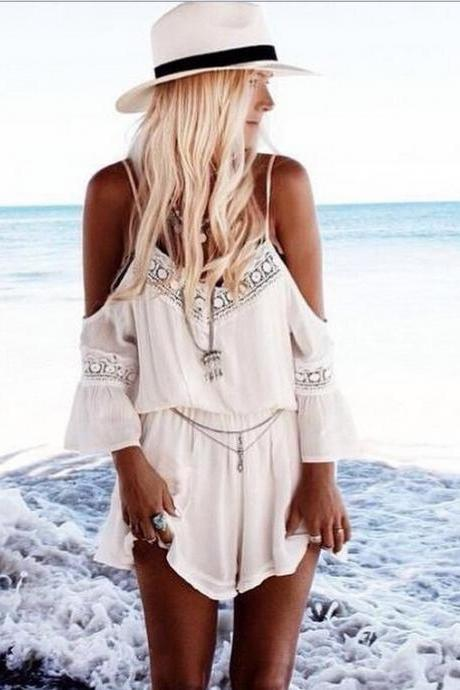 SEXY LACE HOT JUMPSUIT ROMPER TY