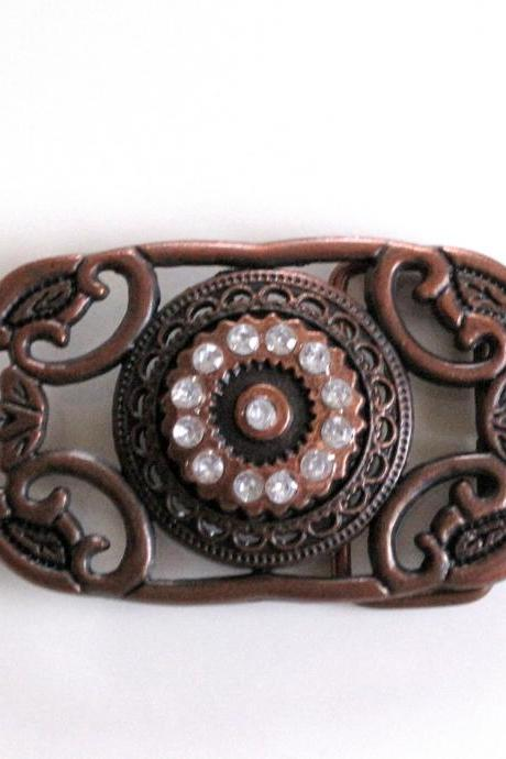 Vintage Bronze Belt Buckle
