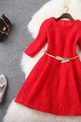 Fashion and elegant red bud silk composite cultivate one's morality dress