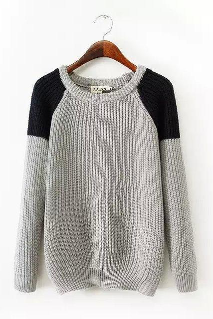Simple Spell Color Pullover