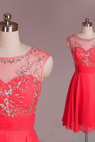red homecoming dress, red evening dress, short evening dress, unique prom dresses, sexy prom dresses, 2015 prom dresses, popular prom dresses, dresses for prom, CM547
