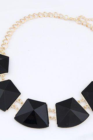Statement jewelry luxury gift black woman necklace