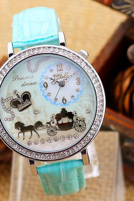Clay diamond watches creative fashion female models horse watch
