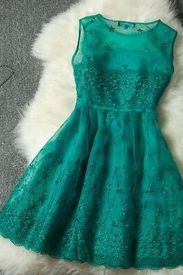 Embroidery Princess Dress