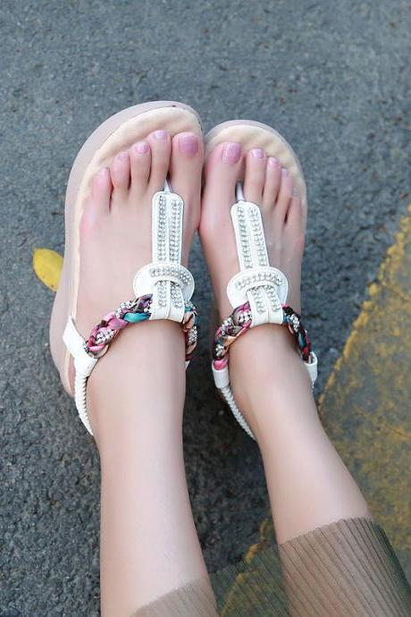 The new diamond clip toe sandals 9