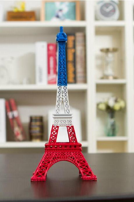 2015 new cute Fashion Paris Eiffel Tower Display Model Home Office Desk Decoration
