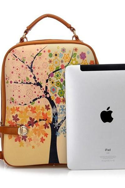 2015 new fashion Tree Of Four Seasons Backpack