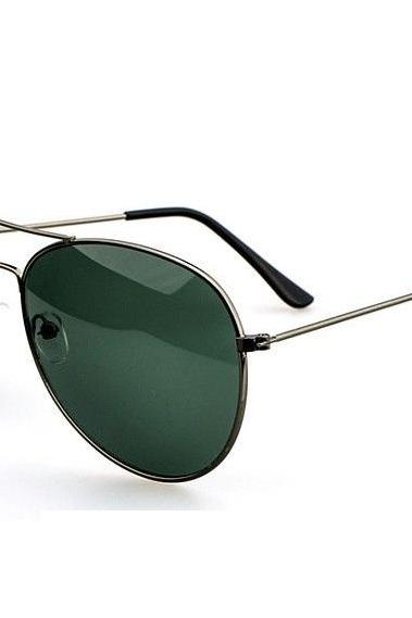 Aviator Summer Green Lenses Sunglasses
