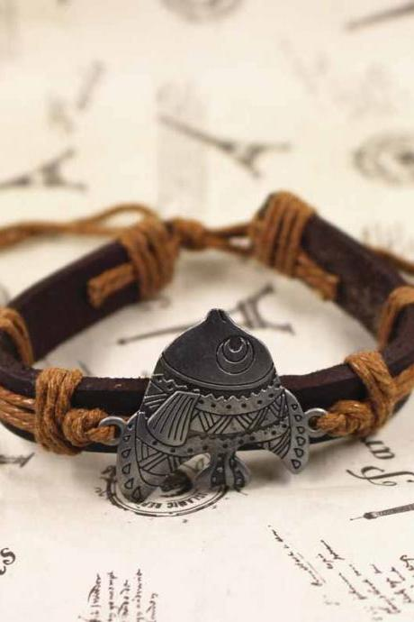 Fish Bracelet, Vintage Bracelet, Gifts For Her, Gifts For Him, Birthday Gifts