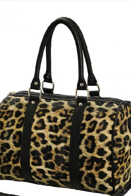 2015New fashion Leisure Elegant Leopard Handbag & Shoulder Bag for women