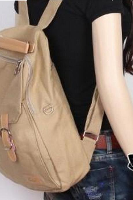 2015 New women Fashion Style Capacity Canvas Multifunction Backpack & Handbag & Shoulder Bag