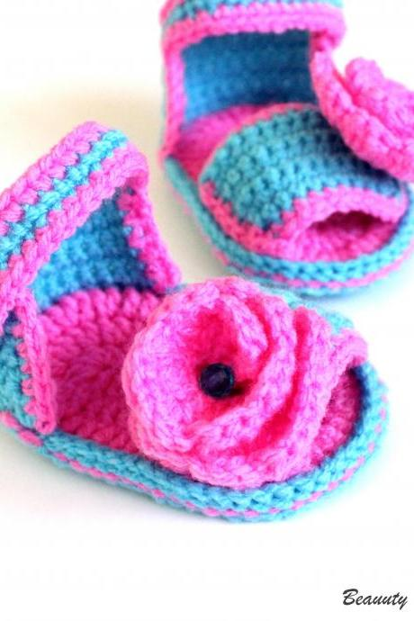 Crochet Pattern Baby Girl Sandals, Baby Sandals Crochet Pattern, Crochet Sandal Pattern, Crochet Sandals Baby, Crochet Pattern Baby