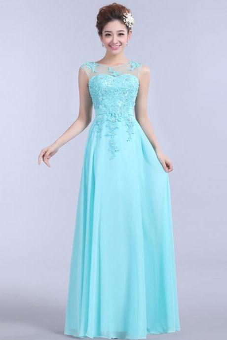 Lace Prom Dresses Bridesmaid Dresses Evening Dress Party Dress Prom Gown S108