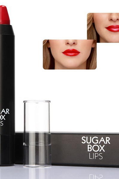 12 Colors Sugar box High Gloss Waterproof Lipstick