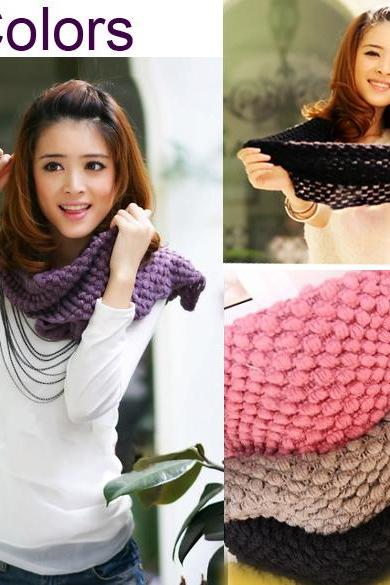 Knit Warmers Scarf Corn Shawl