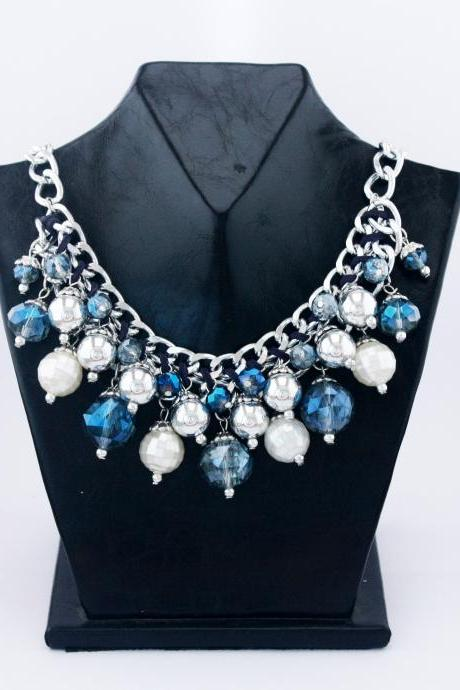 Fashion party handmade vintage woman necklace
