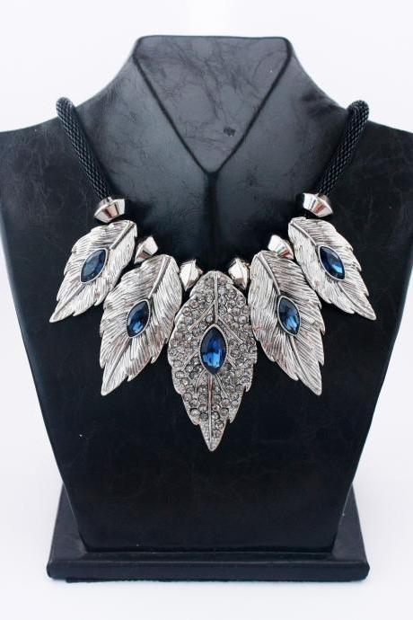 Leaves handmade one fashion woman necklace