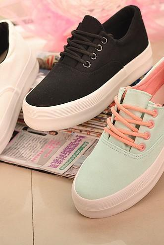 Women's Casual Flat Canvas sneakers Shoes