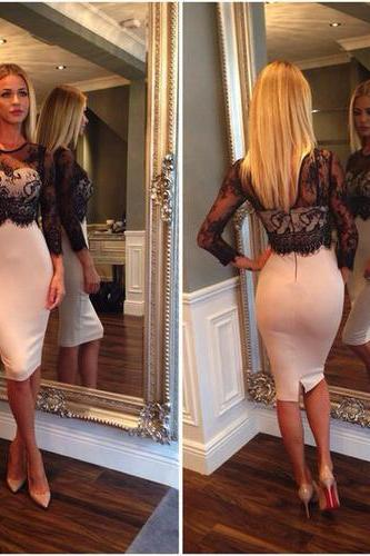 Sexy Women Lace Legging Splice Slim Bodycon Party Cocktail Evening Pencil Dress