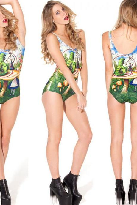 One Piece Underwear Monokini Bikini