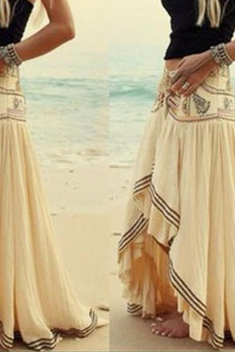 HOT IRREGULAR CUTE LONG SKIRT