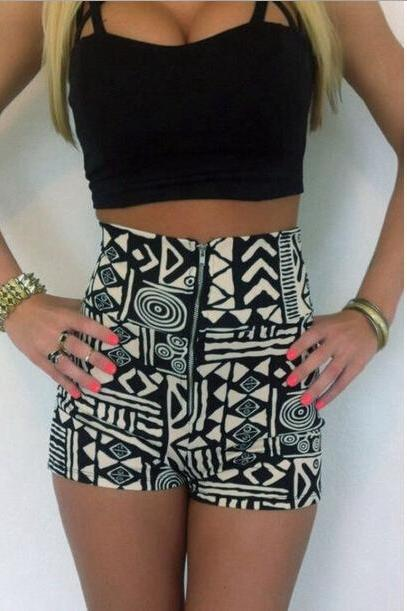 CUTE GEOMETRIC TWO PIECE SUIT