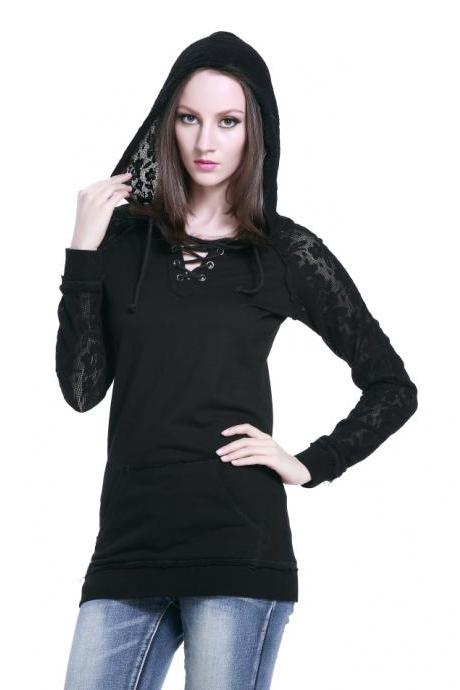 Lace Cap Long Sleeve Cardigan