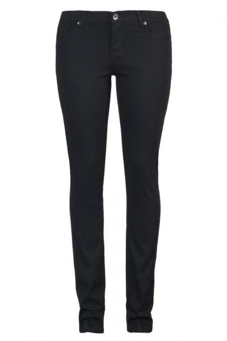 Ladies' Black Casual Pants