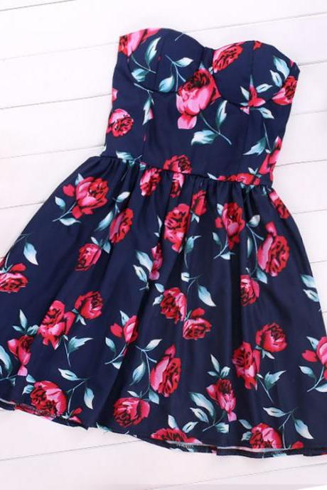 Rose Bustier Dress