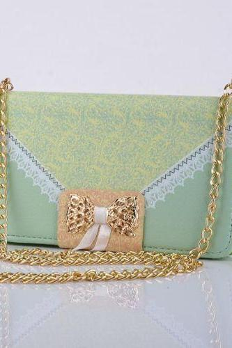 Fashion Wallet Card Holder PU Leather Flip Cover Case For iPhone 6 4.7 + Chain