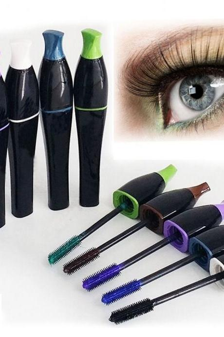Long Curling Makeup Eyelash Waterproof Fiber Mascara Eye Lashes Cosmetic Fashion