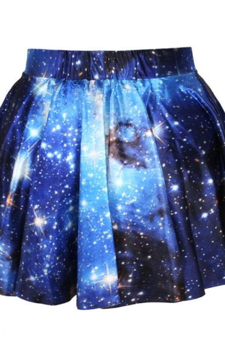 Space Galaxy Digital Printing Skirt