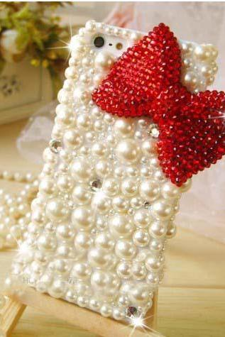 Bling Pearl diamond bow Hard Back Mobile phone Case Cover Rhinestone Case Cover for iphone 6s case,iphone 6s plus case,iphone 6c case,iphone 5case,iphone5scase,iphone5c case,iphone 6 case,iphone 6plus case,samsung galaxy s4 case,samsung galaxy s5case,samsung galaxy s6 case,samsung galaxy s6 edge case,samsung galaxy note3 case,samsung galaxy note4 case,samsung galaxy note5 case.