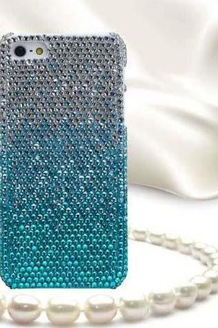 Fresh and blue and white diamond Hard Back Mobile phone Case Cover Rhinestone Case Cover for iphone 6s case,iphone 6s plus case,iphone 6c case,iphone 5case,iphone5scase,iphone7 case,iphone 6 case,iphone 6plus case,samsung galaxy s4 case,samsung galaxy s5case,samsung galaxy s6 case,samsung galaxy s6 edge case,samsung galaxy note10 case,samsung galaxy note4 case,samsung galaxy note5 case.