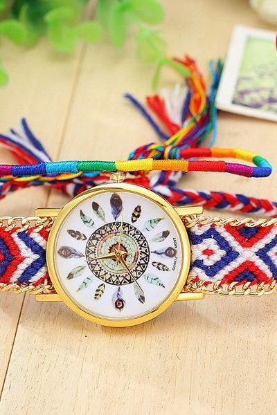 Colorful Strap Casual Teen Unisex Watch