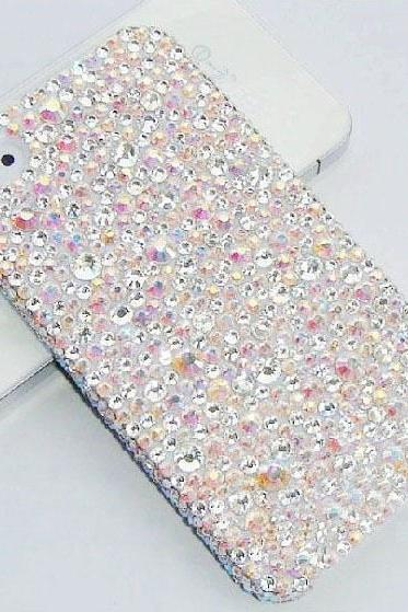 6s plus 6c Muticolored crystal diamond Hard Back Mobile phone Case Cover sparkly girly Case Cover for iPhone 4 4s 5 7 5s 6 6 plus Samsung galaxy s7 s4 s5 s6 note8.0 4