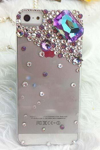 6s plus 6c Sparkly diamond Hard Back Mobile phone Case Cover bling handmade crystal Case Cover for iPhone 4 4s 5 7plus 5s 6 6 plus Samsung galaxy s7 s4 s5 s6 note10 4