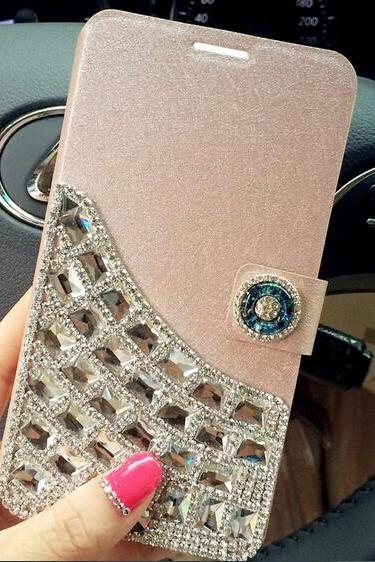 6c 6s plus Rhinestone Hard Back Mobile phone Case Cover bling wallet Case Cover for iPhone 4 4s 5 7plus 5s 6 6 plus Samsung galaxy s7 s4 s5 s6 note5 4