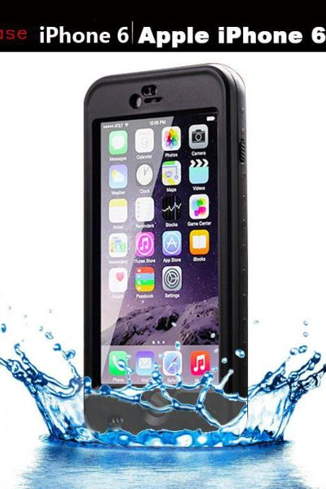 For apple iphone 6 6 plus Case ,shock proof waterproof Bags Cover with Fingerprint
