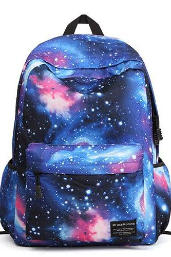 Galaxy Nebula SchoolBag Backpack