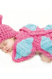 Butterfly Hand knitted wool clothes photo prop one hundred days newborn baby photography baby clothes joker pictures clothes